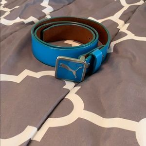 Puma blue belt small